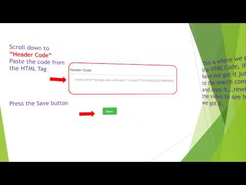 Verify Weebly site in Google Webmasters