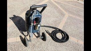 Remove Rust Air Sandblaster Compressor Lidl Parkside Pko 270
