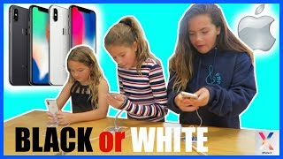 """IPHONE X """" WHICH ONE TO CHOOSE """" BLACK OR WHITE"""" #51"""