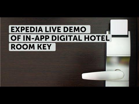 Expedia's digital hotel room key: live demo @ Expedia Partner Conference