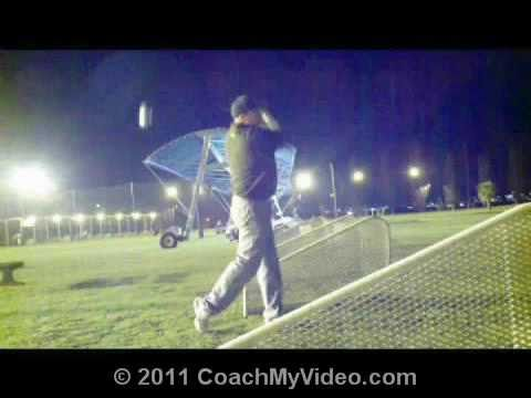 Golf Driver Video Lesson- Ken gets some tips on his stance and the lateral movement in his swing