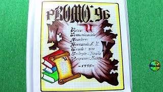 1351 como dibujar cartula hacer cartula pergamino 2018