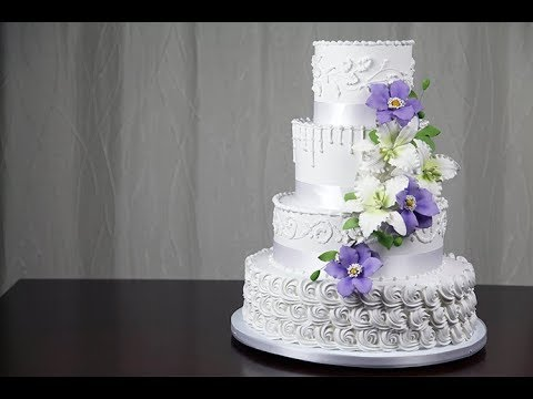 Making Your Own Buttercream Wedding Cake