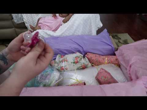 Box Opening Of Silicone Baby Doll - Chubby Life Like Doll - nlovewithreborns2011