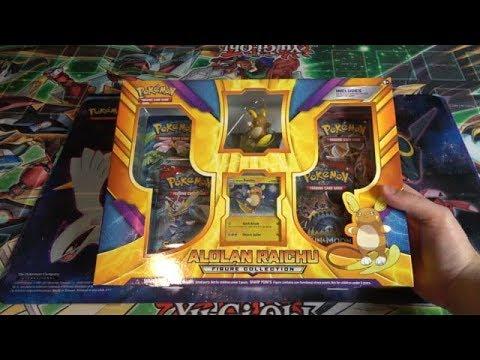 Pokemon Alolan Raichu Figure Collection Unboxing