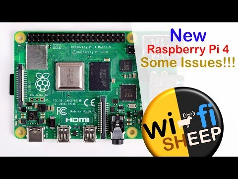 Thoughts on the Raspberry Pi4 (SOME ISSUES!!!)