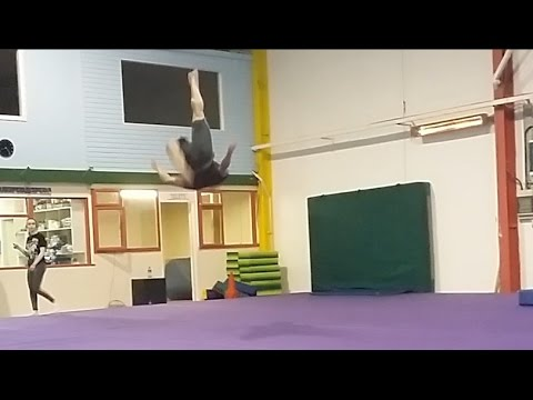 David's first Double Leg! - Training 4th of March