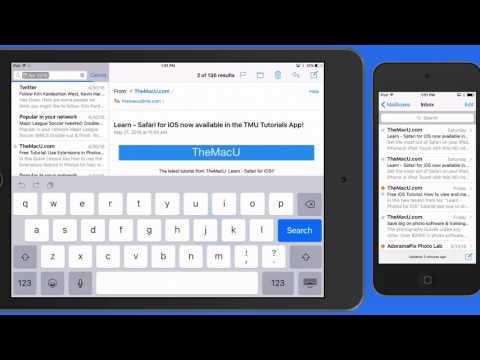 Mail for iPhone & iPad Tutorial: Search