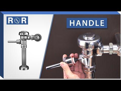 Sloan Regal Flushometer | Handle | Repair and Replace