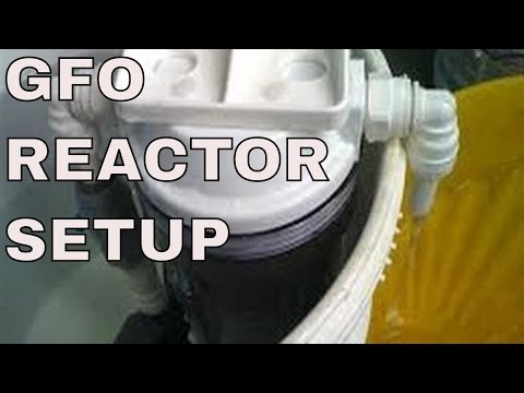 gfo reactor setup for saltwater aquarium - lower phosphates