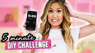 5 MINUTE DIY CHALLENGE