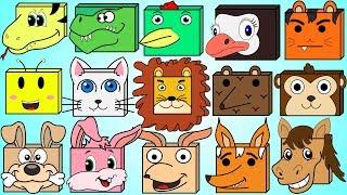 Animal Names Song 2 | Wild Animal Names Song For Children