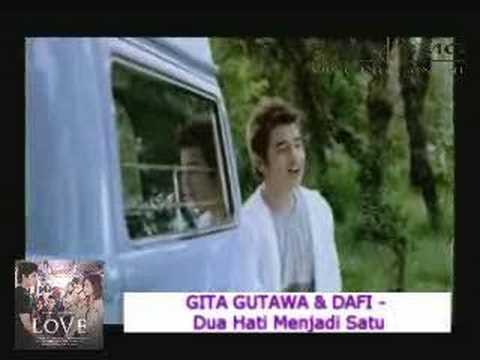 Download Gita Gutawa dan Dafi - Dua Hati Menjadi Satu MP3 Gratis