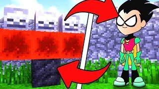 How To Spawn Teen Titans GO in Minecraft (Teen Titans GO! Addon)