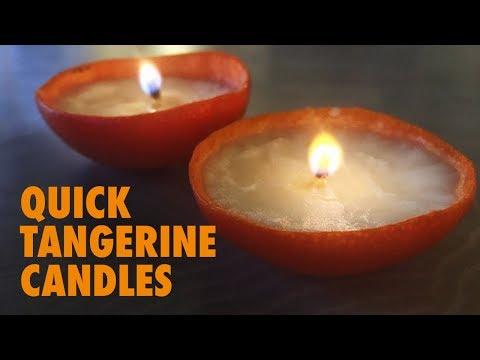 Tangerine Candle - How To (Clementine, Tangerine, Mandarin)