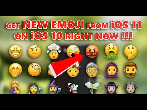 Get New Emoji From iOS 11 On iOS 10 Right Now!