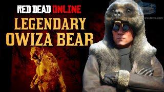 Red Dead Online - Legendary Owiza Bear Location [Animal Field Guide]