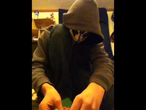 How to make a paper batman mask part 1