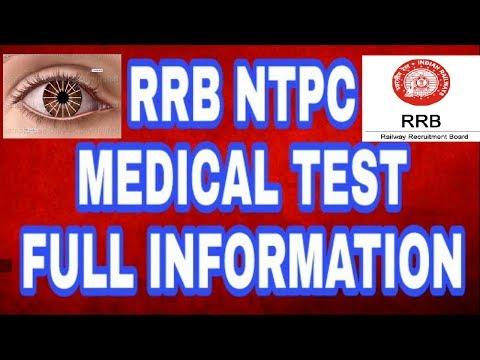 Railway Medical Test