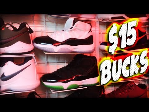 FAKE JORDAN 11'S FOR $15 IN THE PHILIPPINES - CARTIMAR MARKET - PASAY MANILA