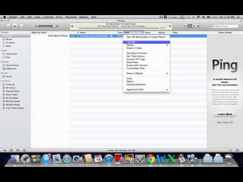 Use iTunes to remember playback position