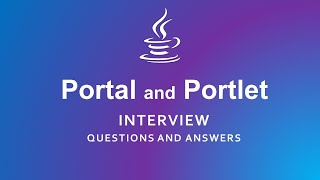 Portal and Portlet Interview Questions and Answers   Java  