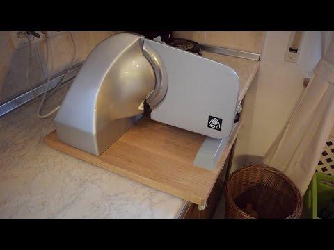 Veneered Slicer Base (table saw cut veneer)