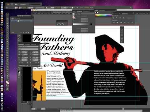 Project 3: Magazine Spread in Adobe Illustrator