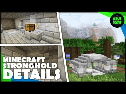 How To Transform a Minecraft STRONGHOLD | Mob Spawner, Entrance and More!