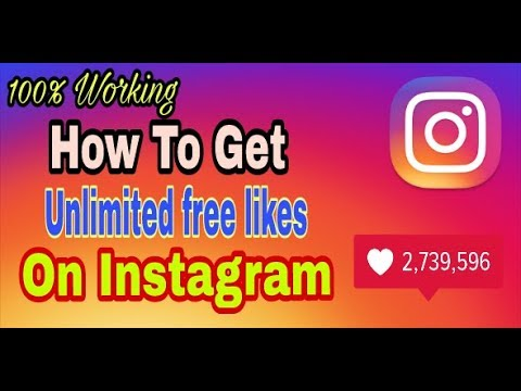 How to get Unlimited Likes On Instagram in Just a Second #Hindi