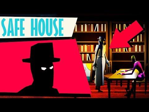 Building a SECRET SPY HQ! - Safe House Gameplay