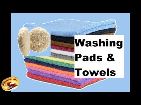 How To:  Wash Microfiber Towels & Buffing Pads