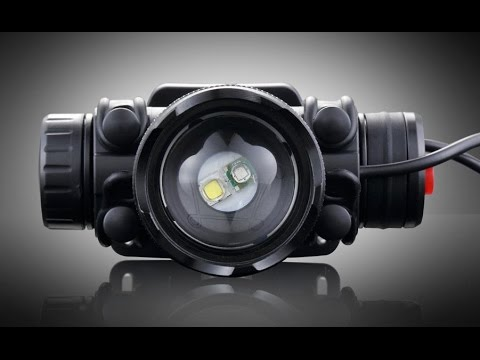 ** CREE HEADLAMP ** 300 LUMENS RECHARGEABLE  LIGHT For RUNNING / CYCLING
