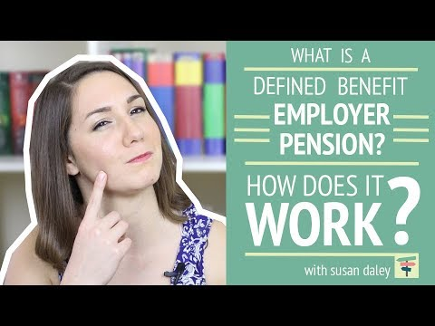 Employer Pension Plans: Defined Benefit Plan | Your Money, Your Choices with Susan Daley