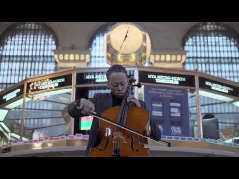 Aaron Stokes Cello Player Grand Central Station New York City
