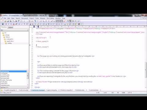 Codeigniter ชุด 31 Multi language Database