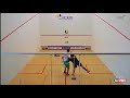 Novo Squash Brasil 2018 - 23.06.18 / MURILO FERNANDES x ALEXANDRE BARUZZI