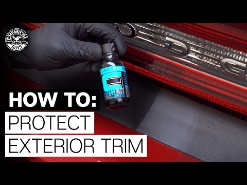 How To Restore & Protect Faded Plastic! - Chemical Guys