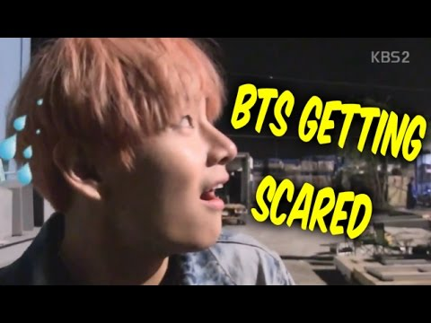 BTS Scared Moments