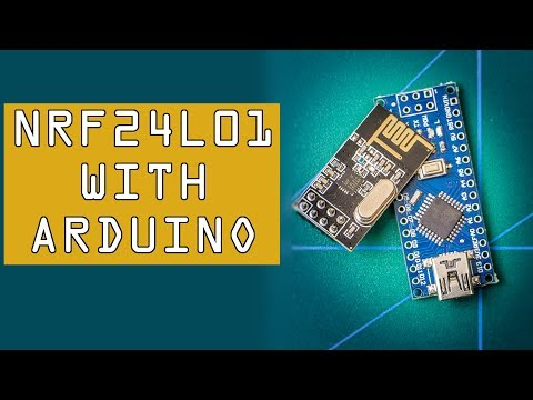How To: NRF24L01 With Arduino