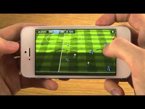 FIFA 14 iPhone 5 iOS 7 GM HD Gameplay Review