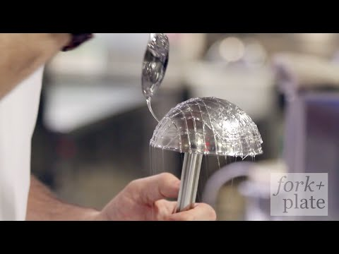 How to Make a Sugar Cage by Chef Rory Macdonald of Hakkasan