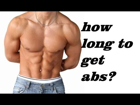 How long does it take to get abs for a 14 year old