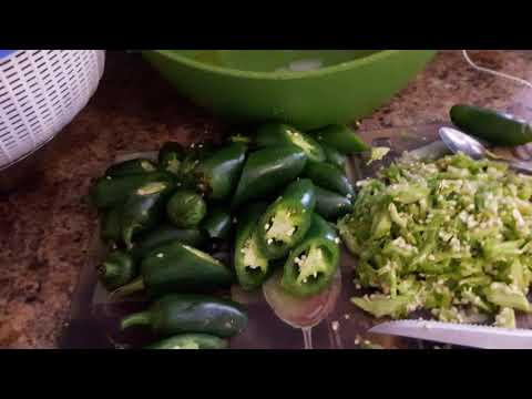 Stuffed jalapeno peppers-how to stuff