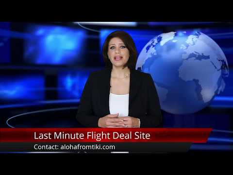 Cheap Last Minute Travel Flight Airline Deals Site w/ Interactive Map Review