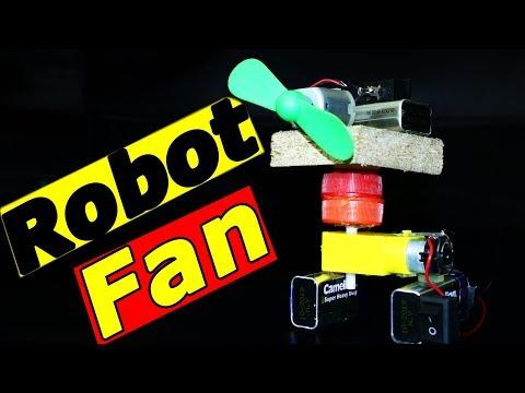 How to Make a Mini Revolving Table Fan - Summer Life Hacks