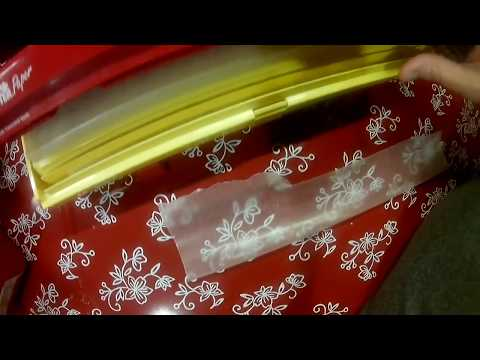 Kitchen Gadgets/ Wrap Master- How to Change the Paper/Plastic/Foil