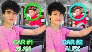 Identical Twins 2-Car DRIVE THRU Prank