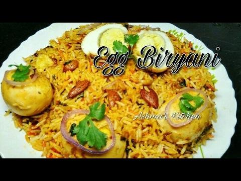 Egg Biryani || recipe in Hindi/Urdu || Ashma's Kitchen