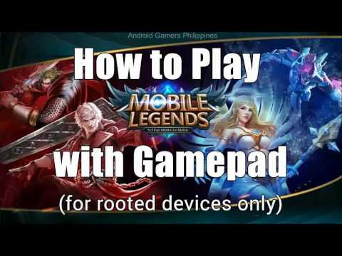 How to Play Mobile Legends & Android Games w/ a Gamepad (Rooted Only)